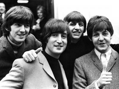 Los Beatles miran a Lo Blanco del Jamón